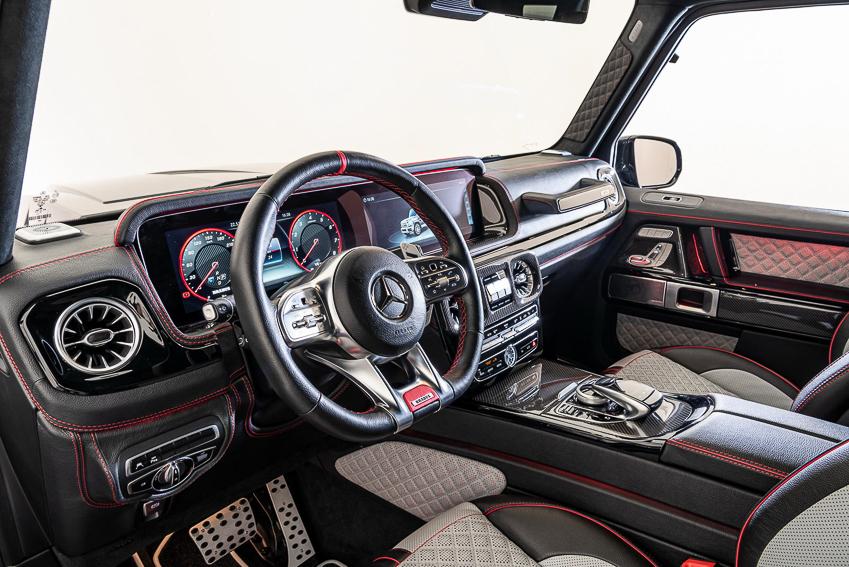 Mercedes-AMG G63 hầm hố khi qua tay hãng độ Brabus, sản xuất đúng 20 chiếc - 12
