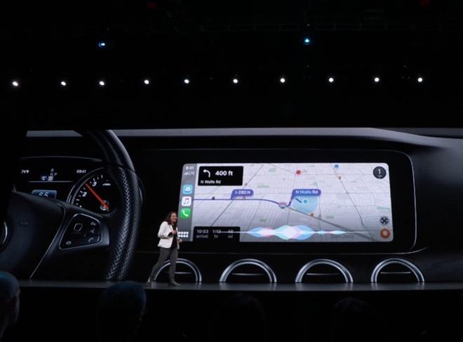iOS 13 nâng cấp Apple CarPlay giao diên thông tin hơn, gia tăng tiện ích 1