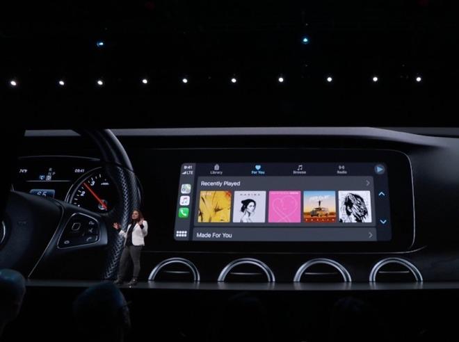 iOS 13 nâng cấp Apple CarPlay giao diên thông tin hơn, gia tăng tiện ích 2