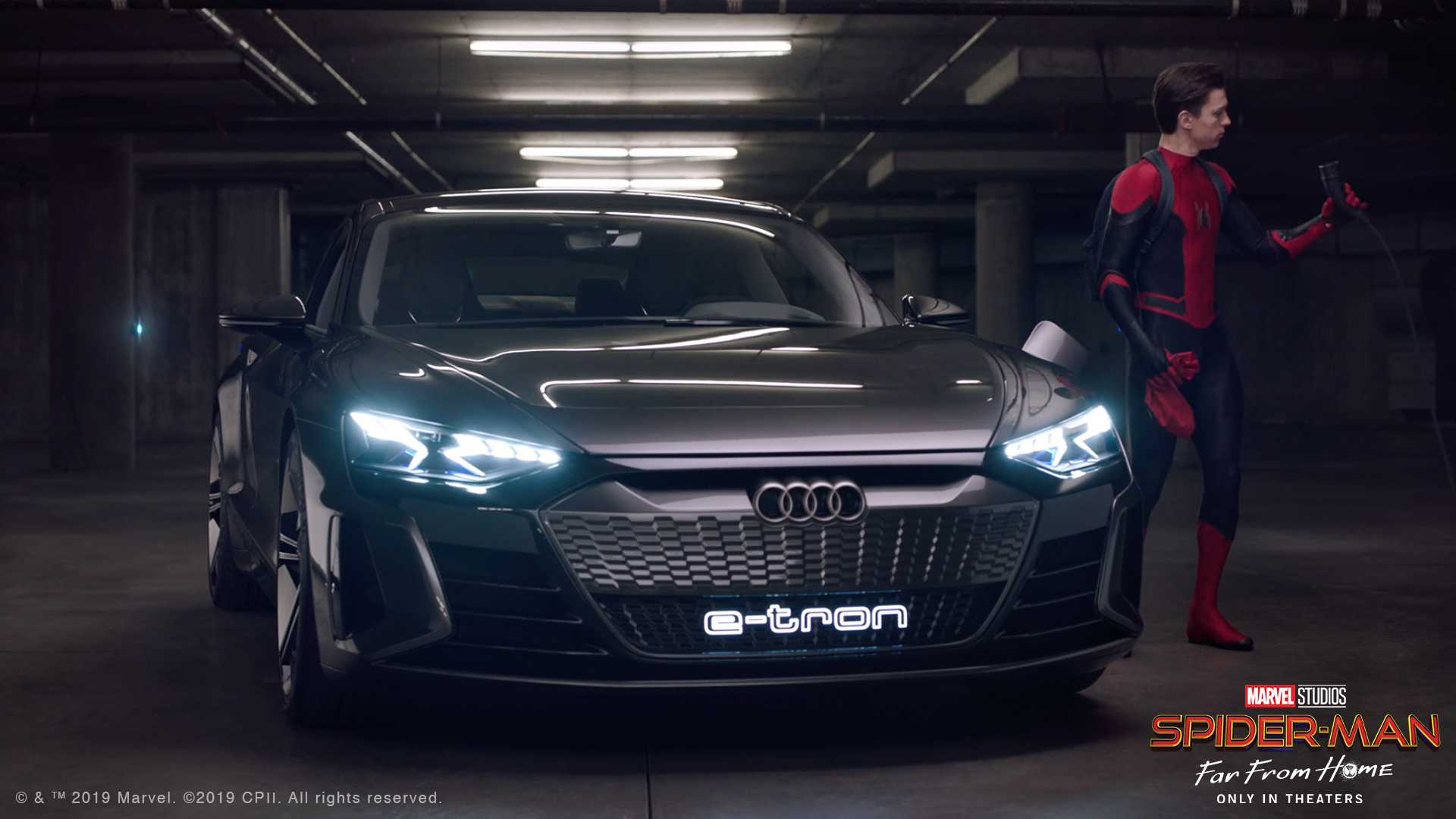 Siêu xe điện Audi e-tron GT trong phim bom tấn Spider-Man: Far From Home - 4