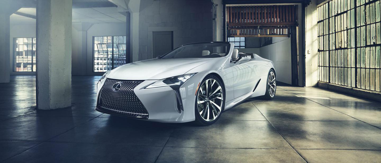 Lexus LC Convertible phiên bản sản xuất sẽ có mặt tại Lễ hội tốc độ Festival Goodwood - 0