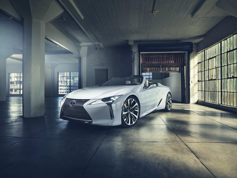 Lexus LC Convertible phiên bản sản xuất sẽ có mặt tại Lễ hội tốc độ Festival Goodwood - 15