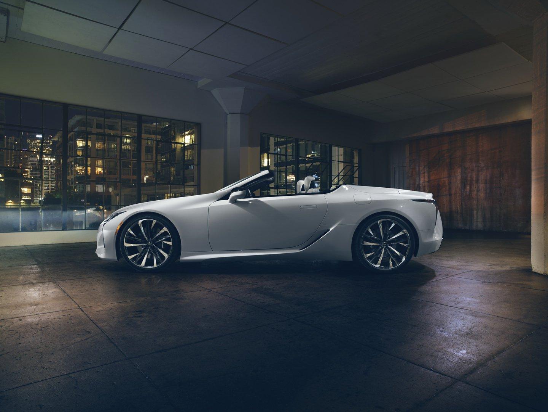Lexus LC Convertible phiên bản sản xuất sẽ có mặt tại Lễ hội tốc độ Festival Goodwood - 8