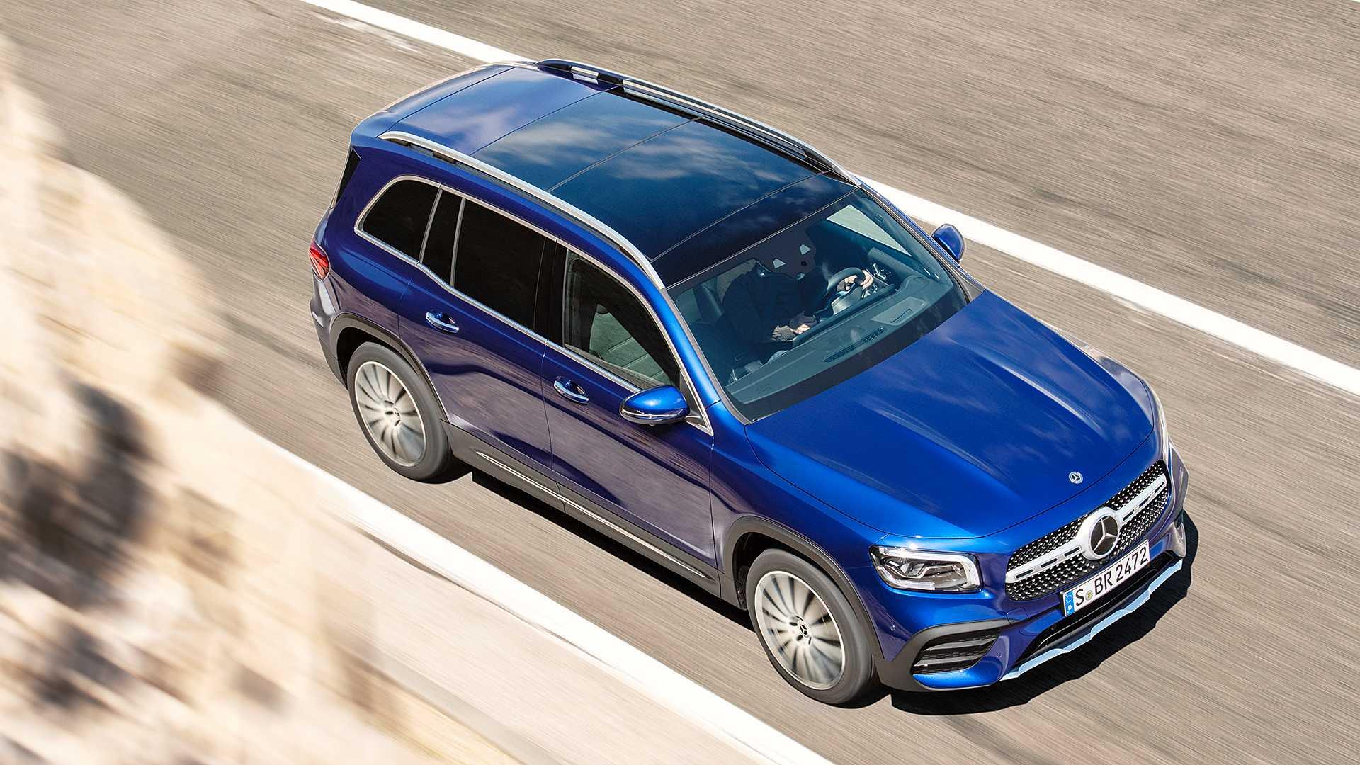 Mercedes-Benz GLB gây bất ngờ với thiết kế 7 chỗ dành cho gia đình - 5