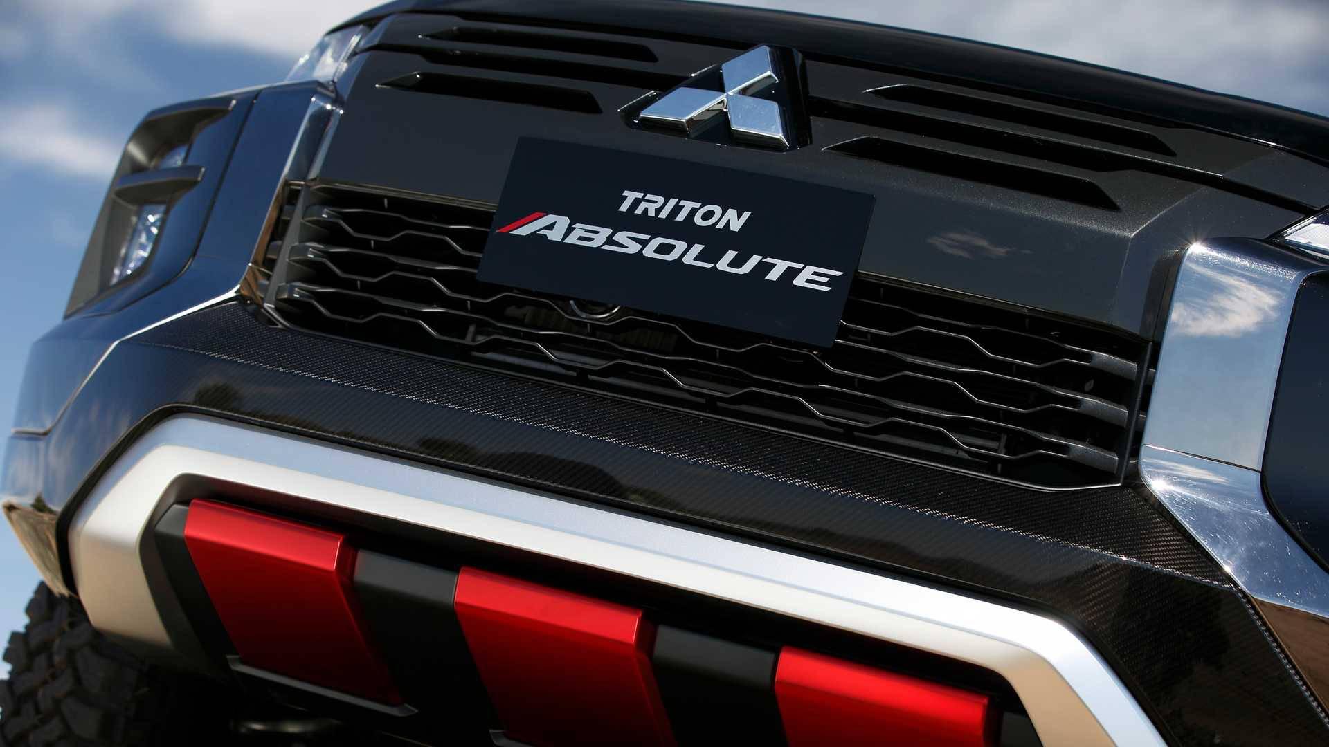 Mitsubishi Triton Absolute cạnh tranh với đối thủ Ford Ranger Raptor - 5