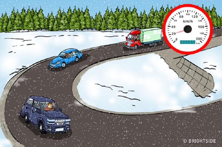 6 mẹo lái xe giúp bạn tránh tai nạn trong điều kiện thời tiết xấu 2