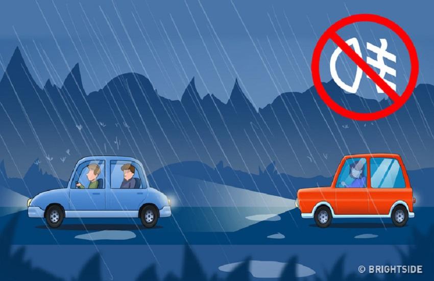 6 mẹo lái xe giúp bạn tránh tai nạn trong điều kiện thời tiết xấu 3