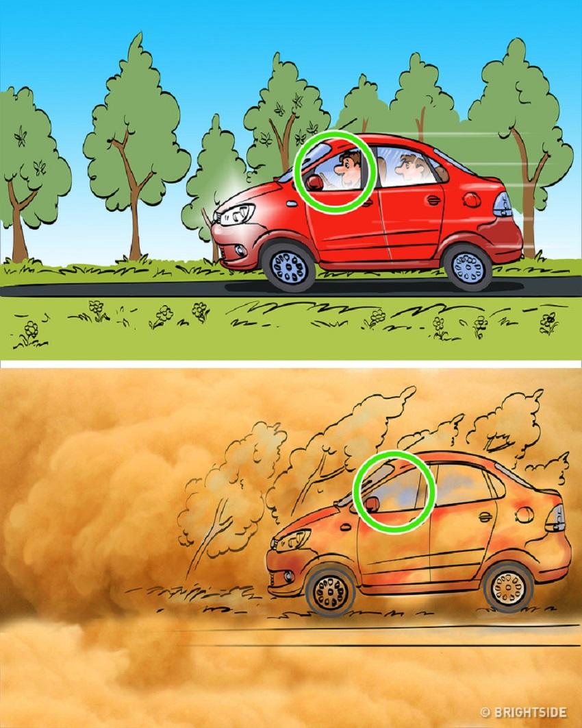 6 mẹo lái xe giúp bạn tránh tai nạn trong điều kiện thời tiết xấu 6