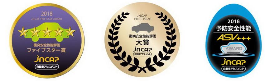 Subaru Forester 2019 tại Nhật Bản giành giải thưởng Grand Prix với điểm số cao nhất của JNCAP 4
