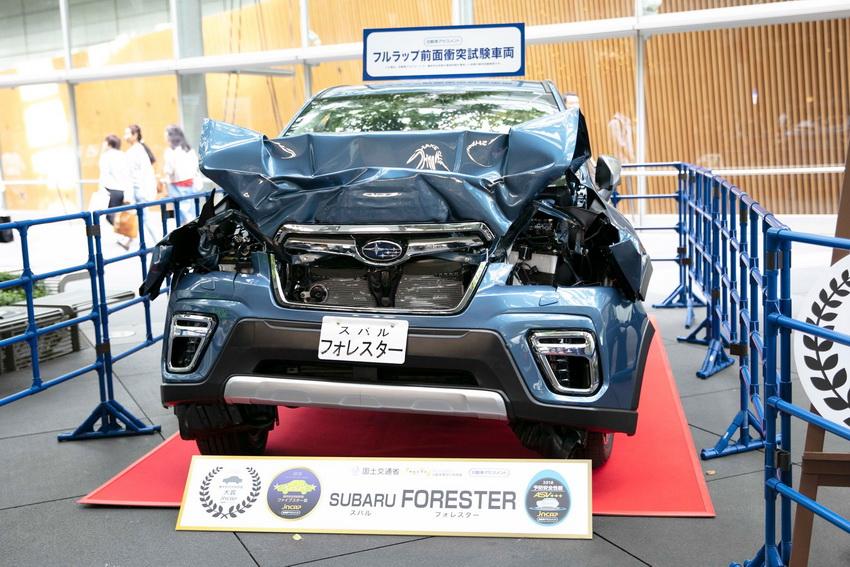 Subaru Forester 2019 tại Nhật Bản giành giải thưởng Grand Prix với điểm số cao nhất của JNCAP 5