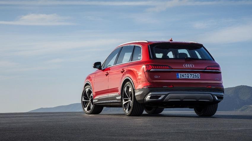 Audi Q7 trở lại với diện mạo và công nghệ mới - 1