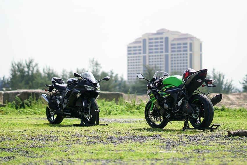 Cận cảnh mẫu xe môtô Kawasaki Ninja ZX-6R 2019 mới về Việt Nam - 17