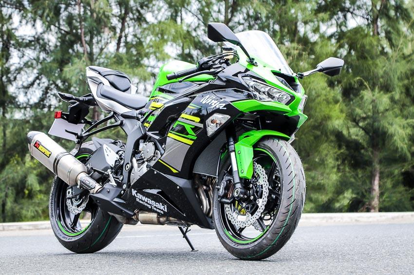 Cận cảnh mẫu xe môtô Kawasaki Ninja ZX-6R 2019 mới về Việt Nam - 34