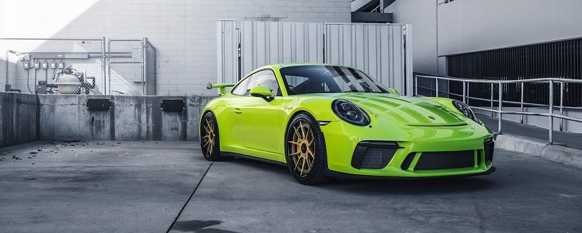 Phiên bản Porsche 911 GT3 màu xanh Acid Green - 11
