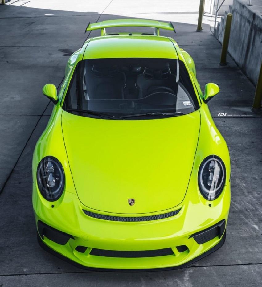 Phiên bản Porsche 911 GT3 màu xanh Acid Green - 13