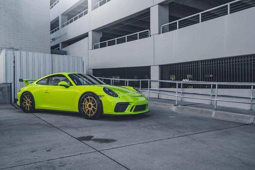 Phiên bản Porsche 911 GT3 màu xanh Acid Green - 8
