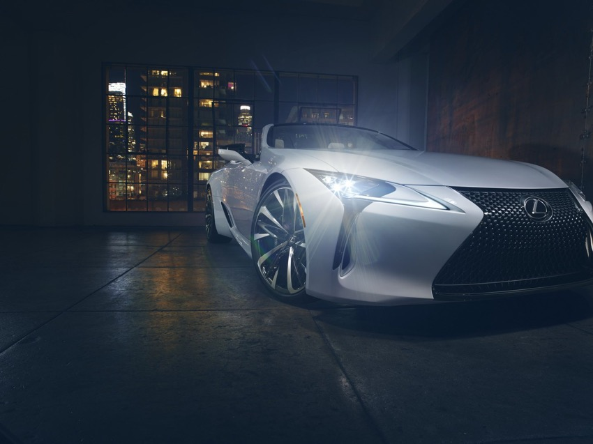 Phiên bản sản xuất của dòng xe Lexus LC Convertible sẽ có mặt tại Lễ hội tốc độ Festival Goodwood - 1