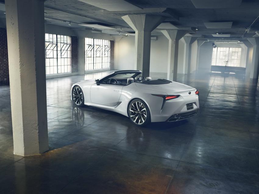 Phiên bản sản xuất của dòng xe Lexus LC Convertible sẽ có mặt tại Lễ hội tốc độ Festival Goodwood - 3