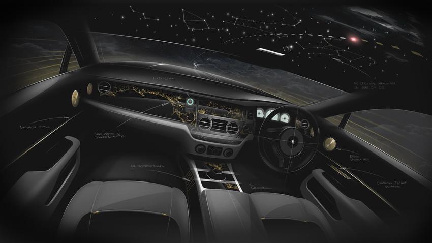 Các phác thảo chưa từng công bố của chiếc xe sưu tập mới nhất Rolls-Royce Wraith Eagle VIII - 10