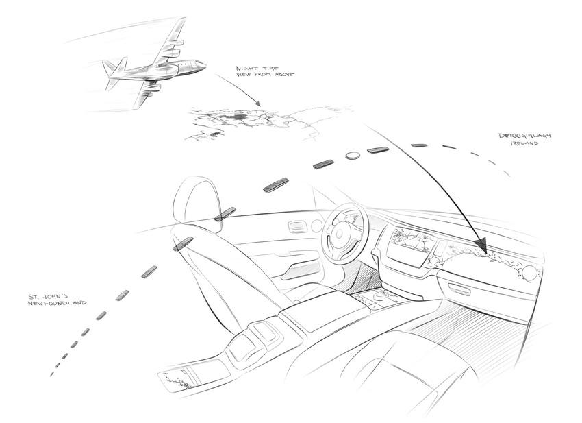 Các phác thảo chưa từng công bố của chiếc xe sưu tập mới nhất Rolls-Royce Wraith Eagle VIII - 2
