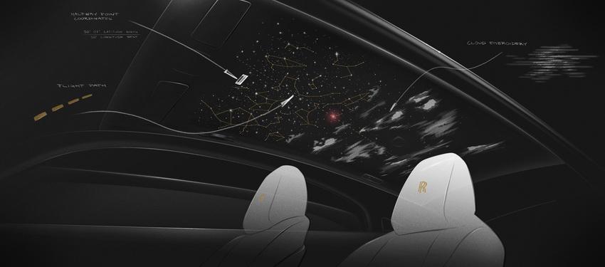Các phác thảo chưa từng công bố của chiếc xe sưu tập mới nhất Rolls-Royce Wraith Eagle VIII - 4