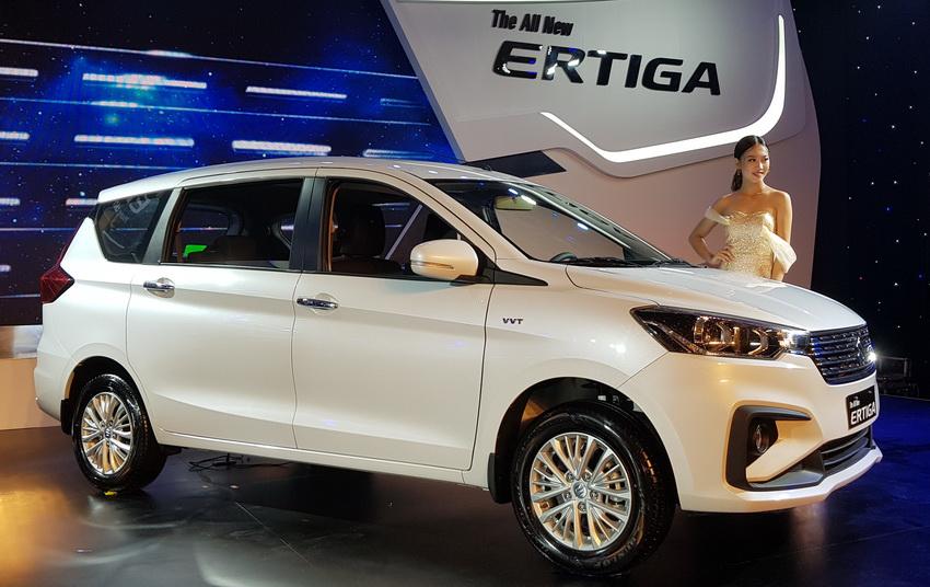 Xe 7 chỗ Suzuki Ertiga mới tại Việt Nam
