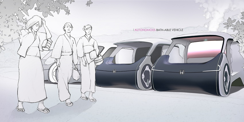 Xe Honda City sẽ có hồ nước nóng thư giãn ngay trên xe - 14