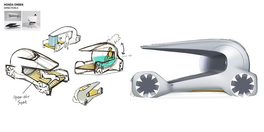 Xe Honda City sẽ có hồ nước nóng thư giãn ngay trên xe - 2