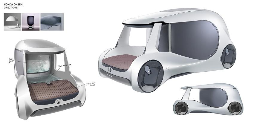 Xe Honda City sẽ có hồ nước nóng thư giãn ngay trên xe - 3
