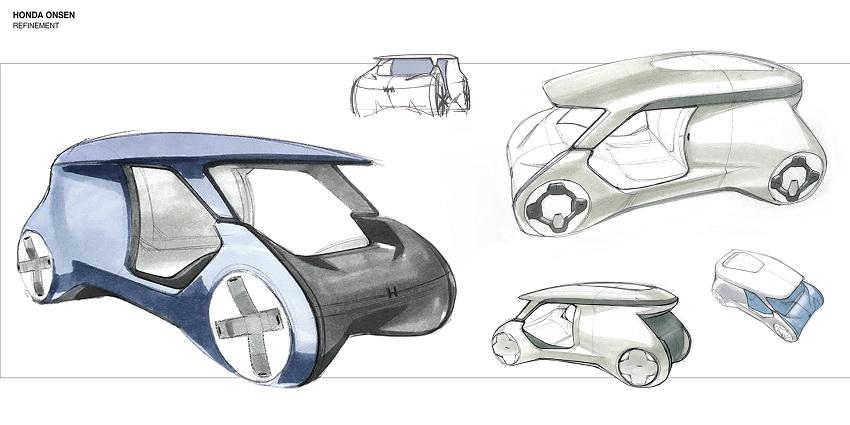 Xe Honda City sẽ có hồ nước nóng thư giãn ngay trên xe - 5