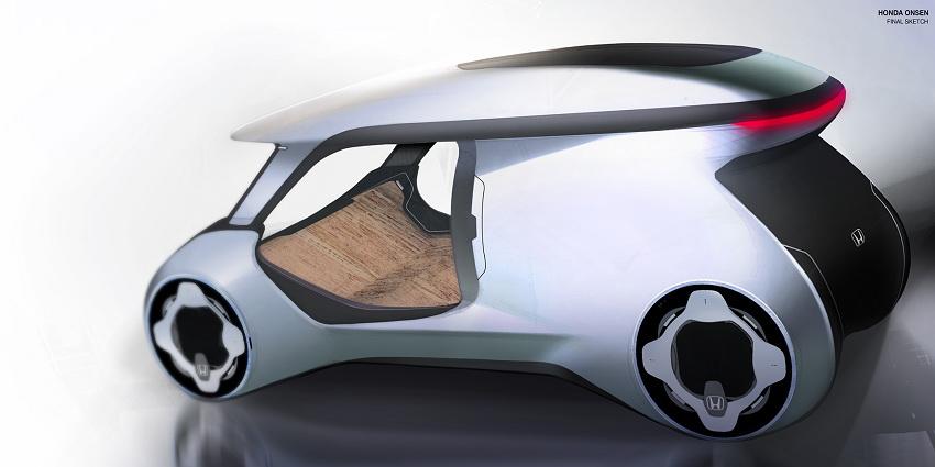 Xe Honda City sẽ có hồ nước nóng thư giãn ngay trên xe - 6