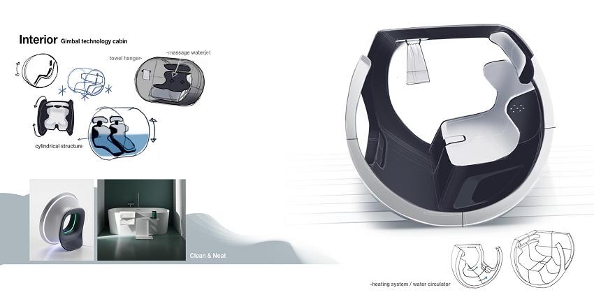 Xe Honda City sẽ có hồ nước nóng thư giãn ngay trên xe - 9