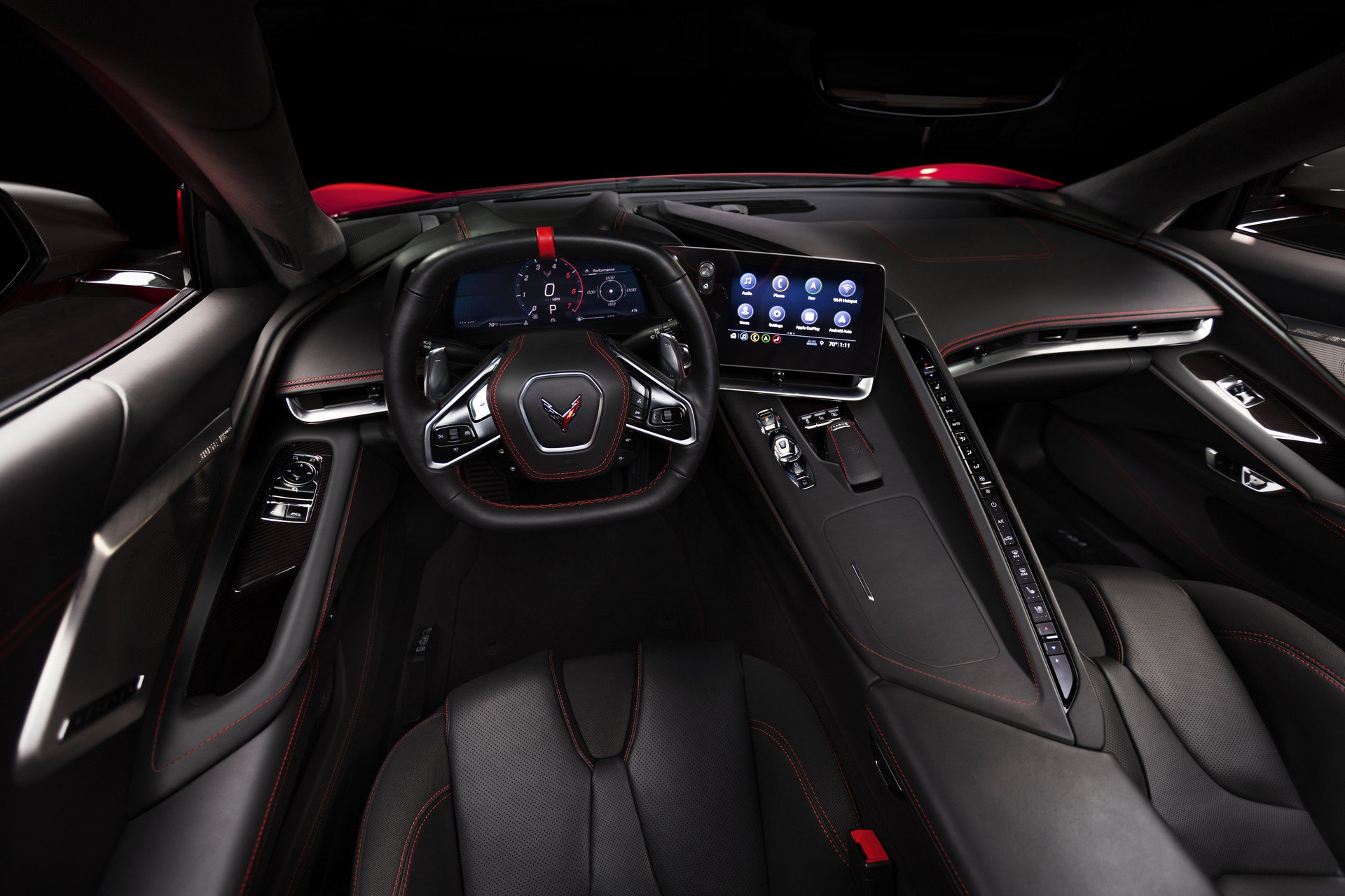 Chevrolet ra mắt Corvette C8 thế hệ mới thiết kế táo bạo, động cơ đặt giữa - 25