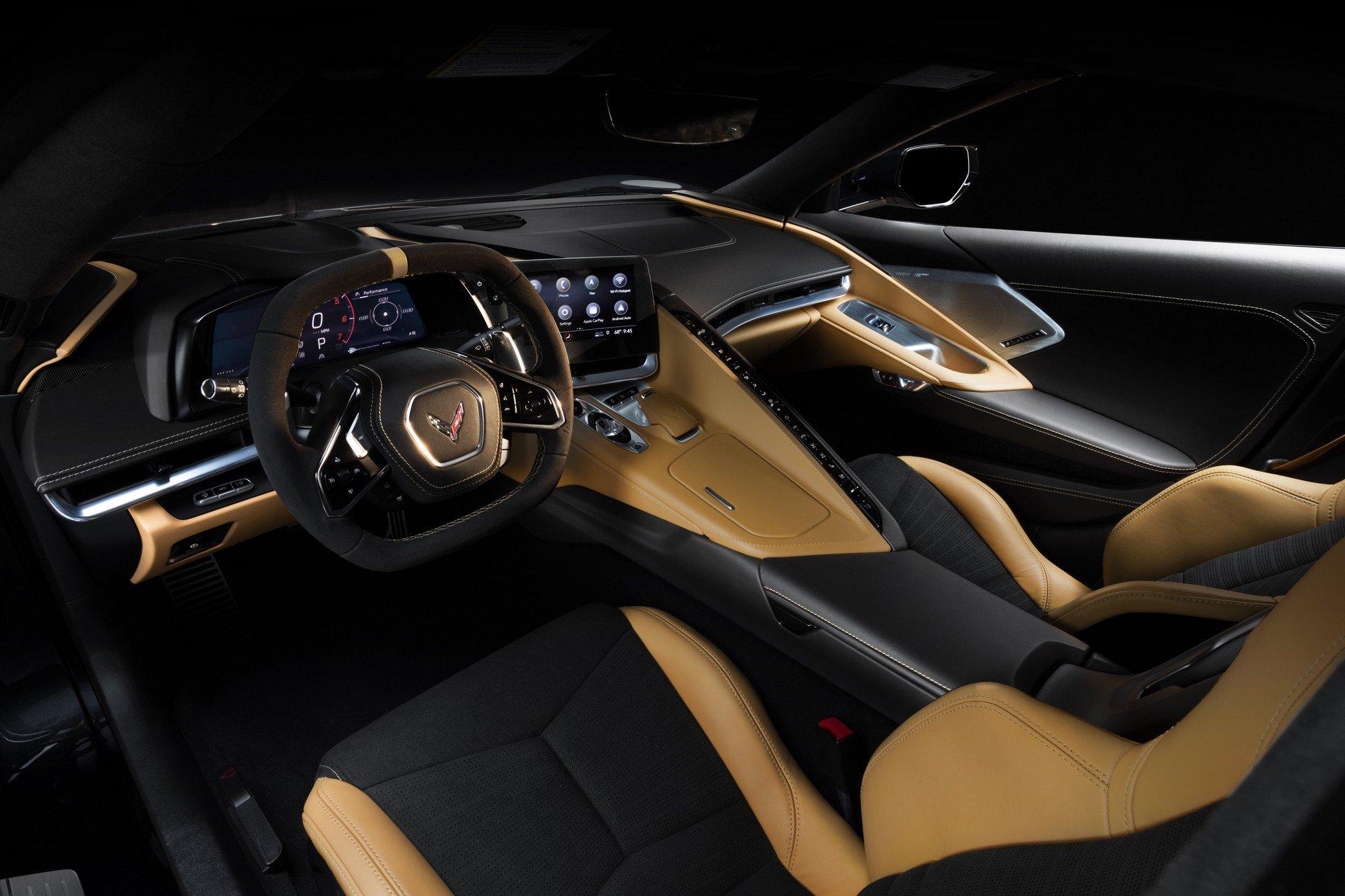 Chevrolet ra mắt Corvette C8 thế hệ mới thiết kế táo bạo, động cơ đặt giữa - 30