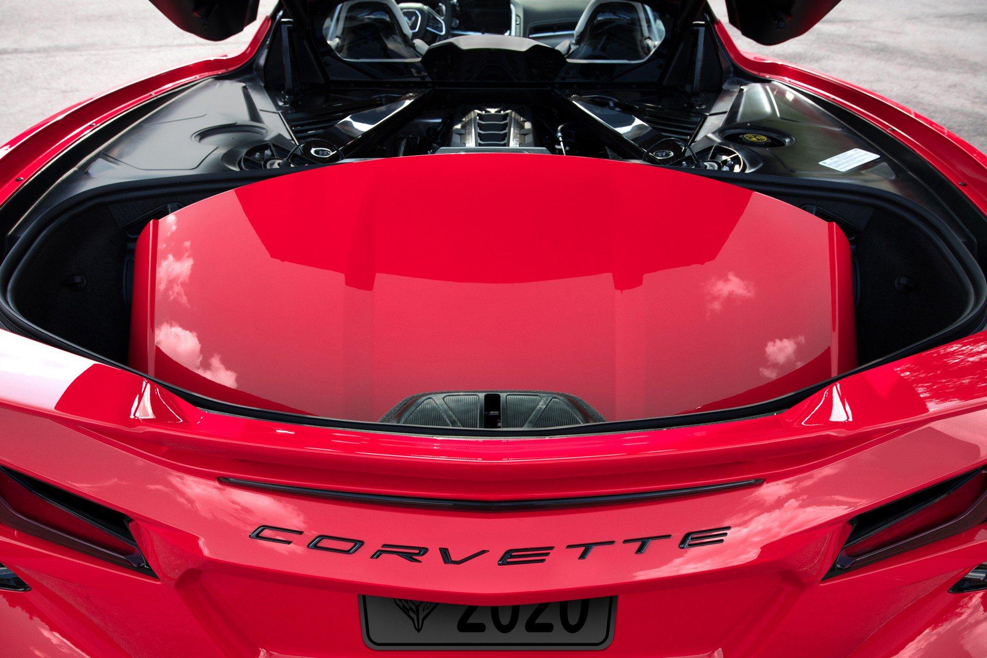 Chevrolet ra mắt Corvette C8 thế hệ mới thiết kế táo bạo, động cơ đặt giữa - 5