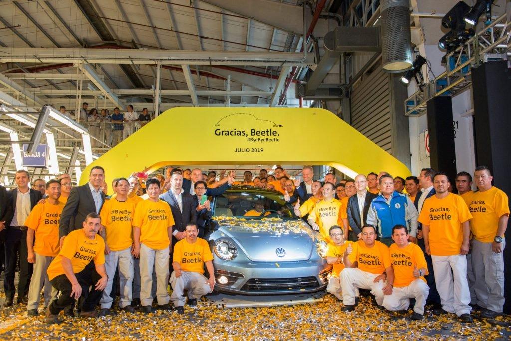 Chiếc Volkswagen Beetle cuối cùng được sản xuất tại Mexico - 3