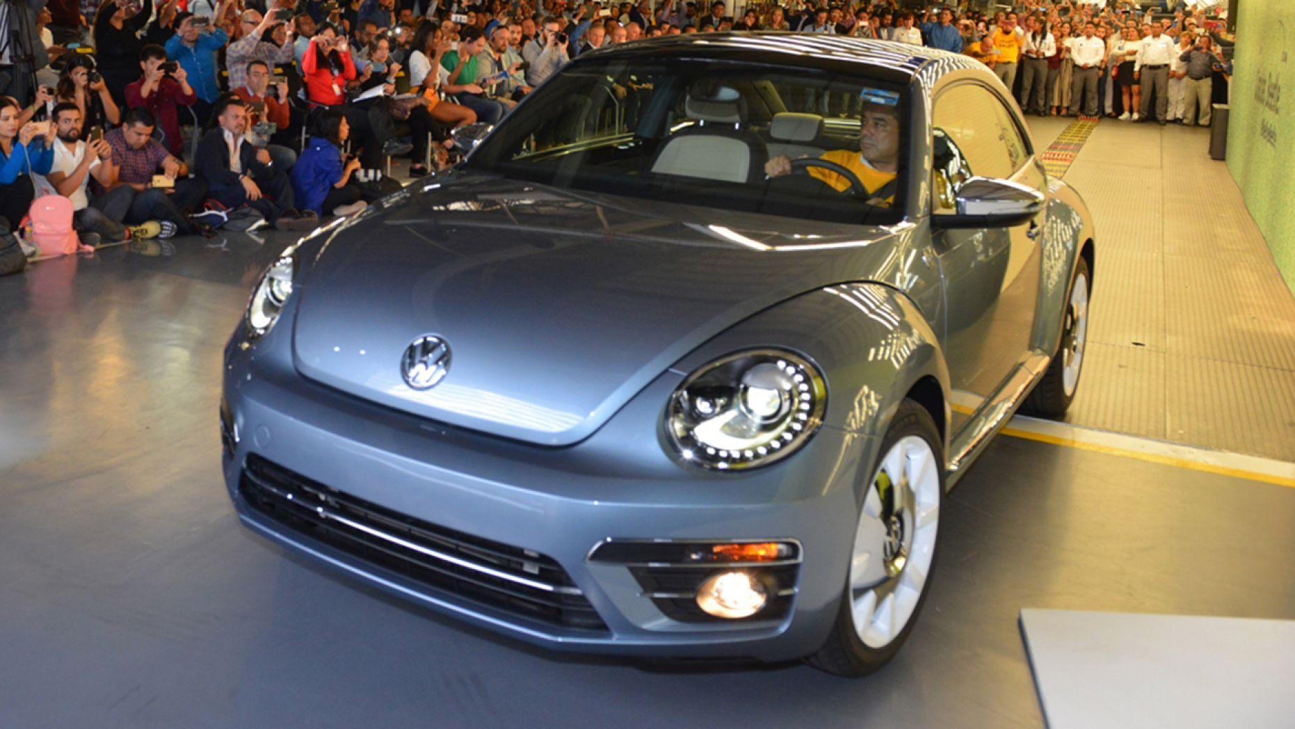 Chiếc Volkswagen Beetle cuối cùng được sản xuất tại Mexico - 4
