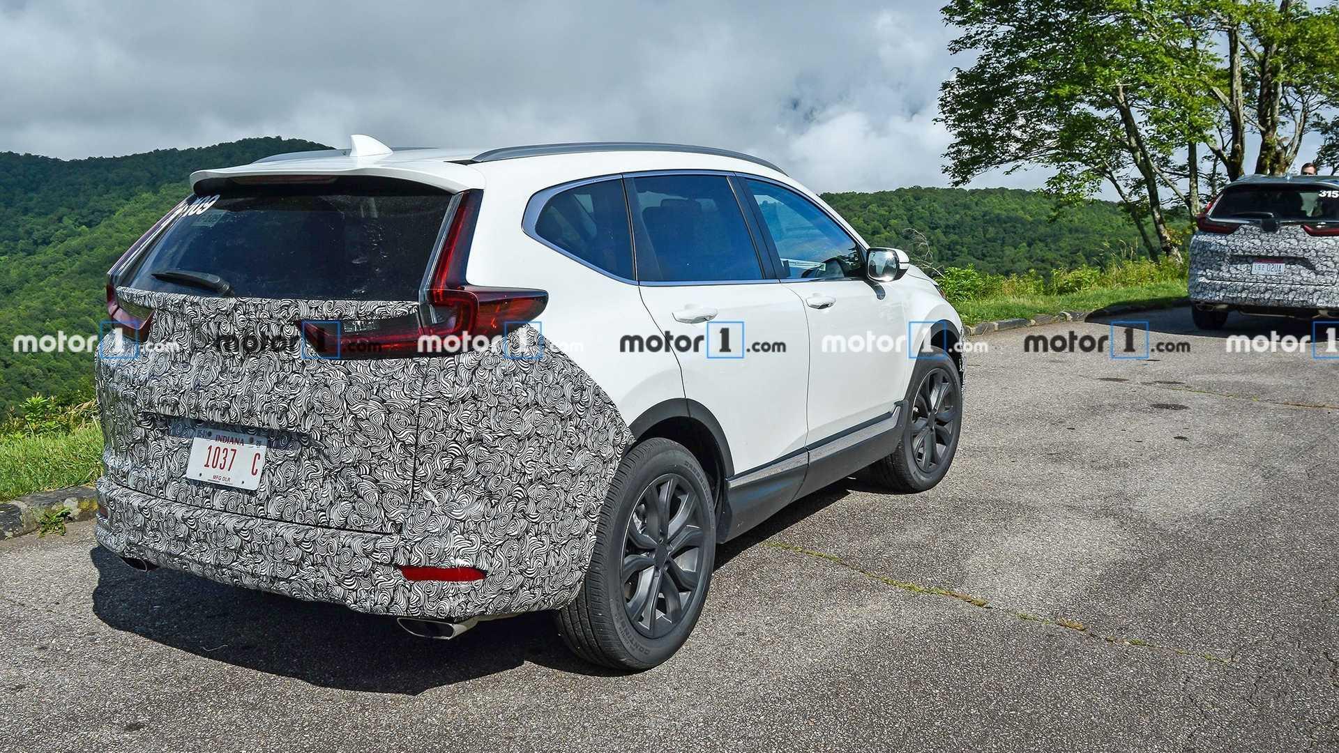 Honda CR-V 2020 phiên bản nâng cấp facelift bị bắt gặp chạy thử tại Mỹ - 2