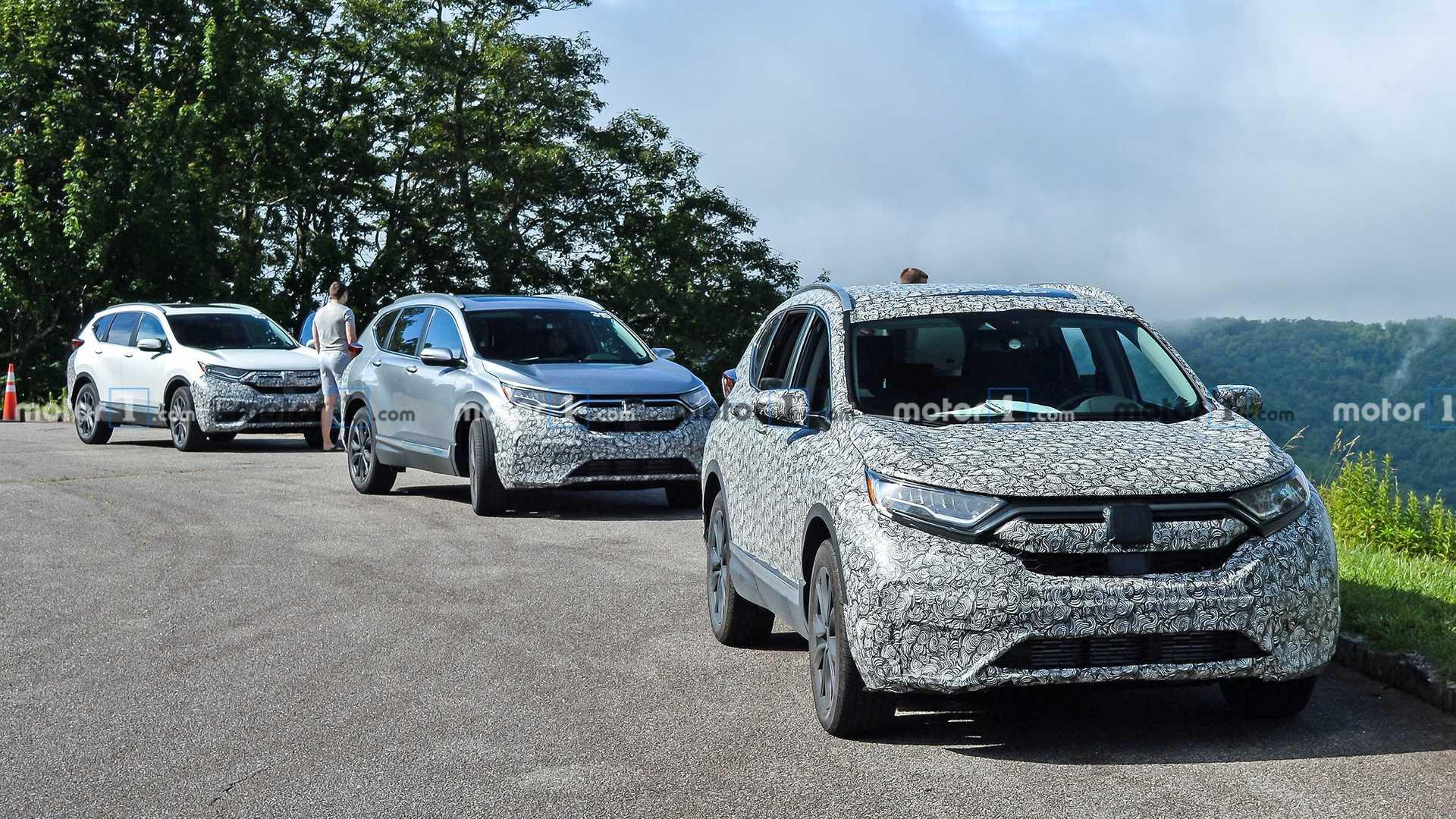 Honda CR-V 2020 phiên bản nâng cấp facelift bị bắt gặp chạy thử tại Mỹ - 4