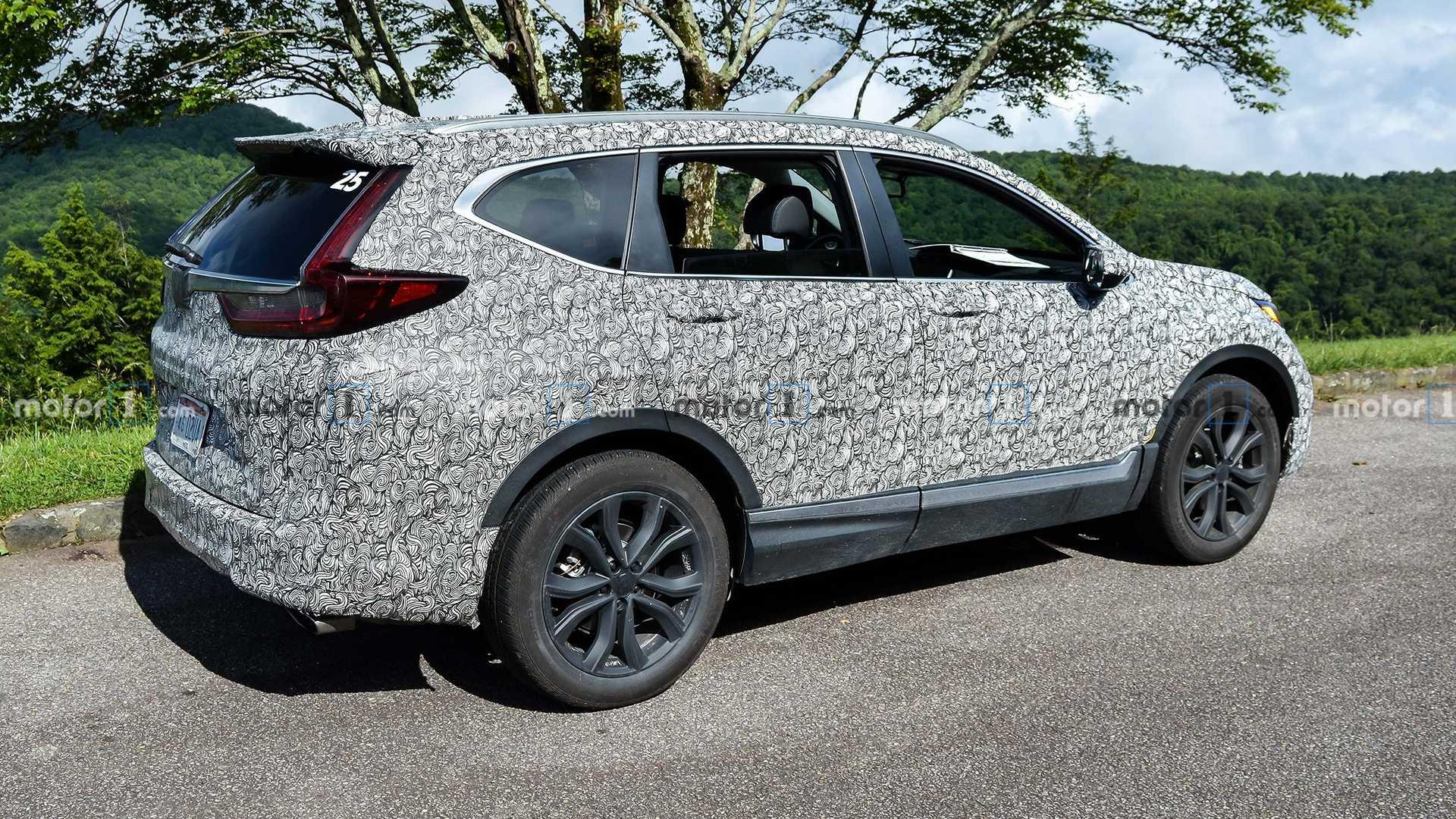 Honda CR-V 2020 phiên bản nâng cấp facelift bị bắt gặp chạy thử tại Mỹ - 6