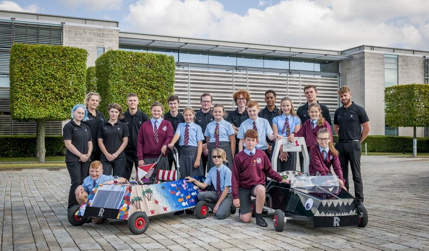 Rolls-Royce và cuộc đua xe chạy điện dành cho học sinh
