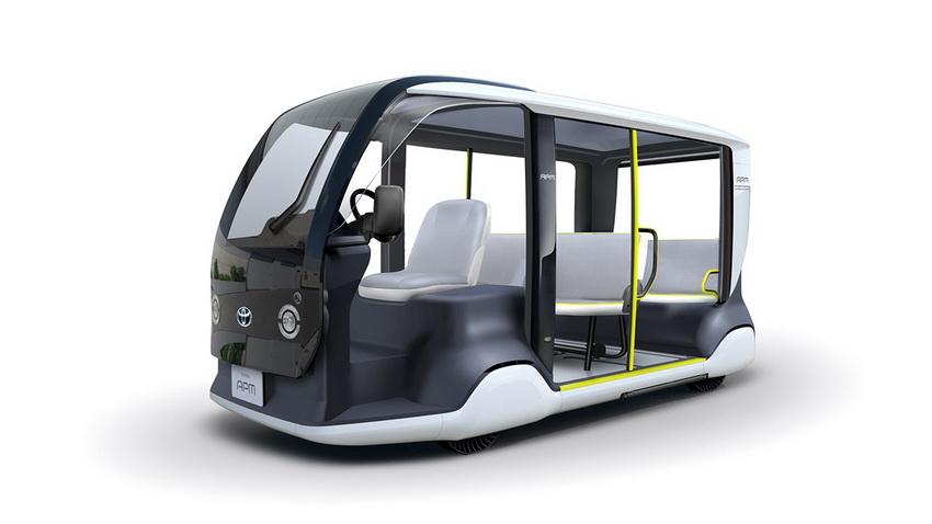 xe điện Toyota APM