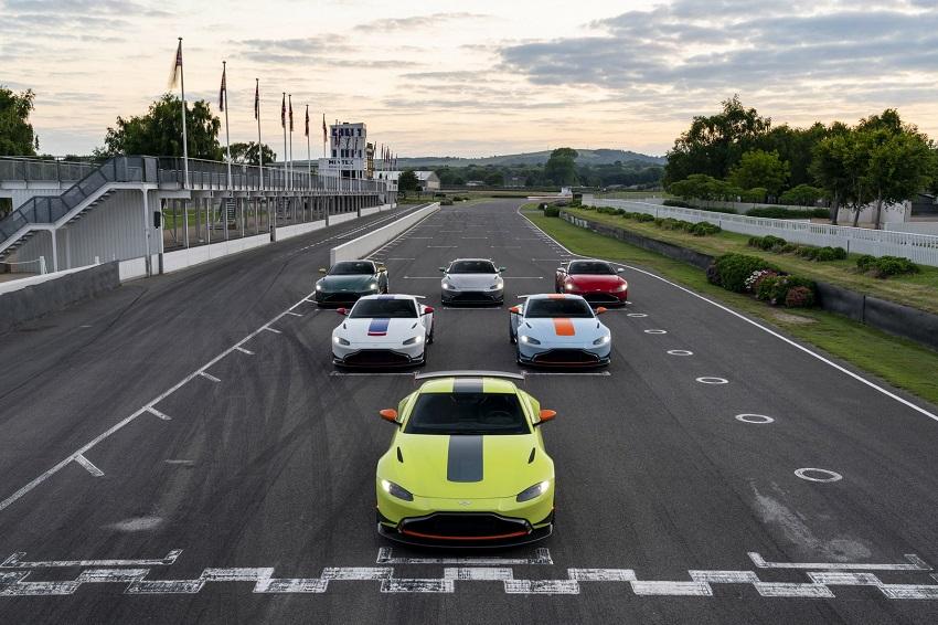 Aston Martin ra mắt bộ sưu tập xe đua Vantage Heritage Racing Edition - 4