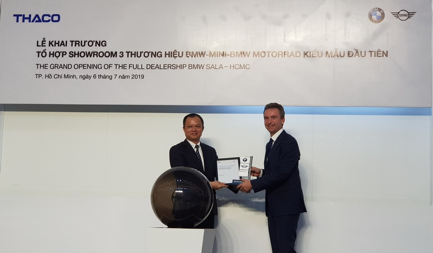 Thaco khai trương tổ hợp showroom BMW-MINI-BMW MOTORRAD và ra mắt BMW X7 - 17
