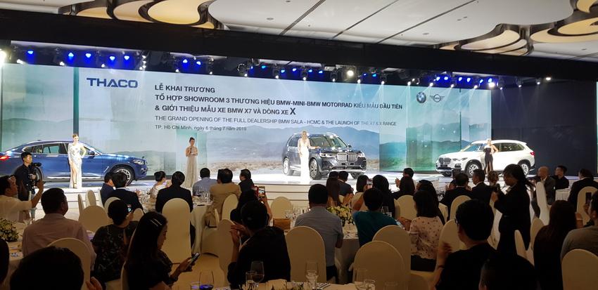 Thaco khai trương tổ hợp showroom BMW-MINI-BMW MOTORRAD và ra mắt BMW X7 - 3