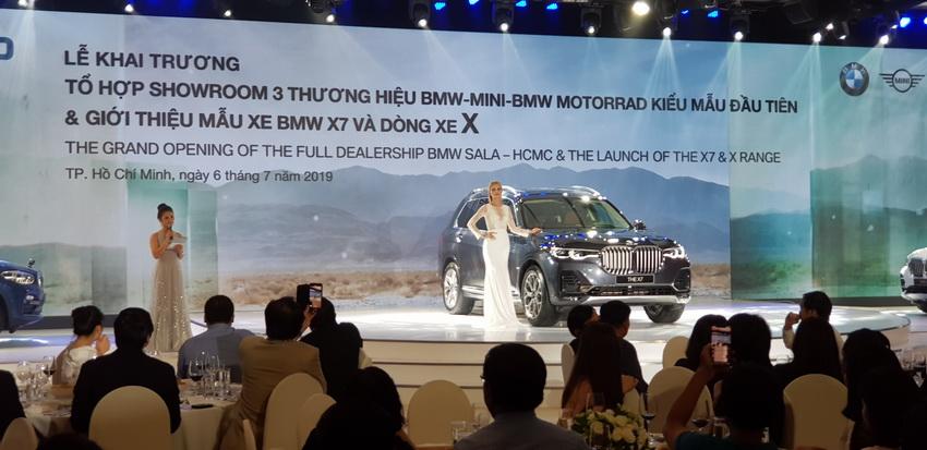 Thaco khai trương tổ hợp showroom BMW-MINI-BMW MOTORRAD và ra mắt BMW X7 - 2