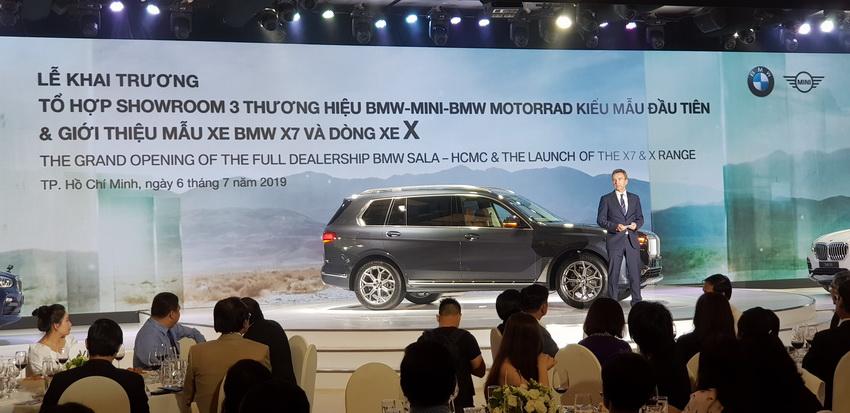 Thaco khai trương tổ hợp showroom BMW-MINI-BMW MOTORRAD và ra mắt BMW X7 - 1