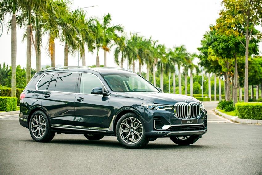 Cận cảnh mẫu xe BMW X7 thế hệ đầu tiên giá 7,499 tỉ đồng ra mắt tại Việt Nam - 45