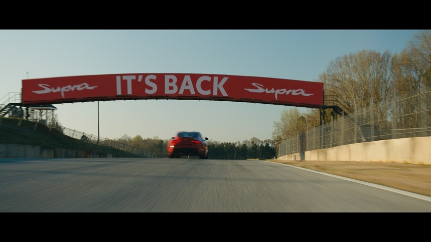 Chiến dịch quảng cáo mới của Toyota công bố dòng xe GR Supra 2020 sẽ có mặt tại các đại lý vào cuối tháng này - 9