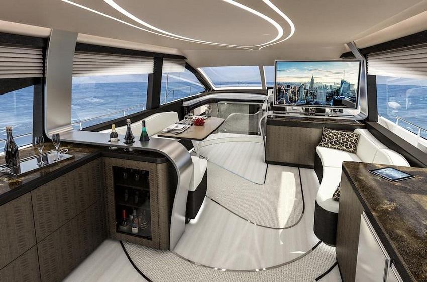 Chào đón mẫu du thuyền sang trọng của Lexus có tên LY 650 - 4
